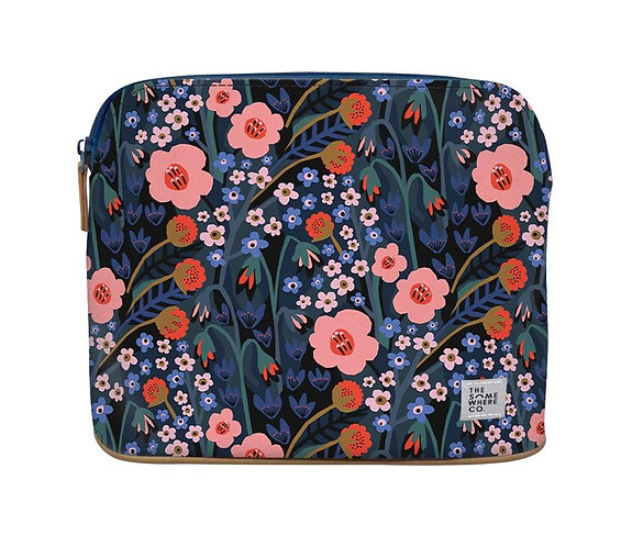 Secret Garden Large Cosmetic Pouch  - THE SOMEWHERE CO.