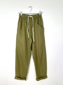 Little Lies - Luxe Pant - Olive