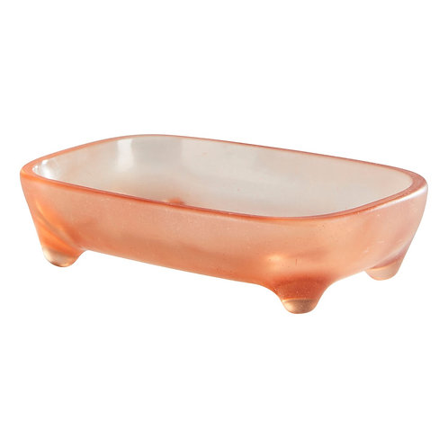 Pica Soap Dish - PINK JELLY - SAGE AND CLARE