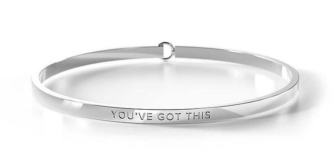 clasp bangle -YOU'VE GOT THIS - Be. Bangles