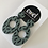 Thumbnail: Sage Green Dangle Earrings - EMEL