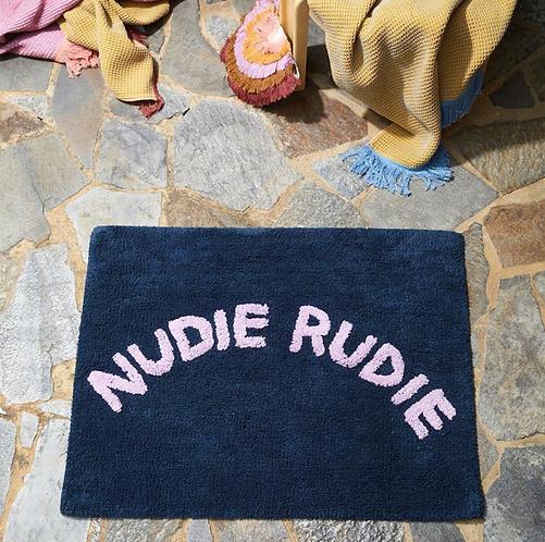 Tula Nudie Bath Mat Denim - SAGE X CLARE