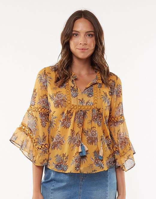 FOXWOOD - Fambroise top - Floral