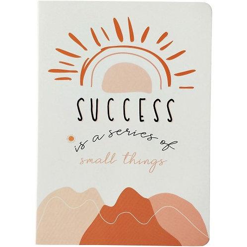 Success Rainbow Journal Peach A5 - URBAN PRODUCTS