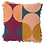 Thumbnail: Keziah Punch Needle Cushion - Peach - SAGE AND CLARE