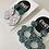 Thumbnail: Green / Mint Dangle Earrings - EMEL