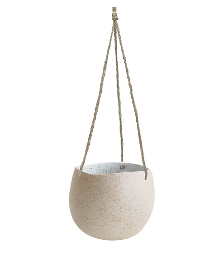 Hanging Planter Small - White Garden to Table - Robert Gordon