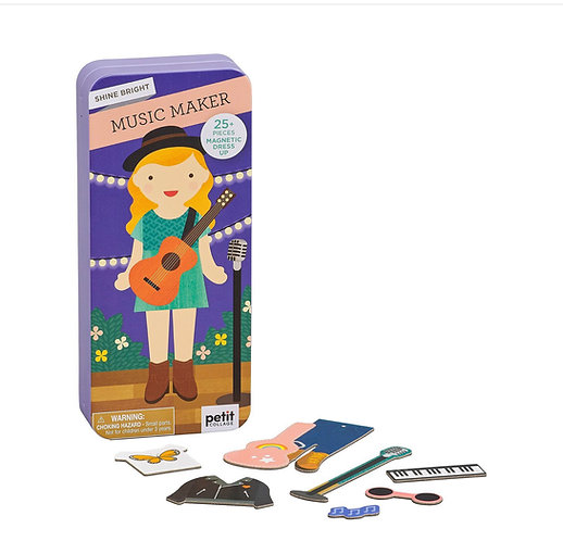 Magnetic Dress Up - Music Maker GAME / TOY