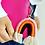 Thumbnail: Rainbow Keyring - Pink/Orange
