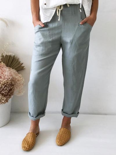Little Lies - Luxe Pants Mint