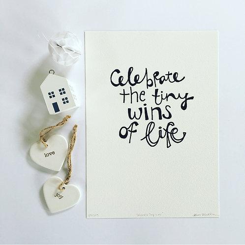 Celebrate Tiny Wins PRINT