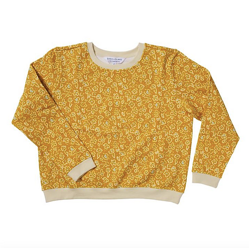 Noelle Cotton Sweater - SAGE X CLARE