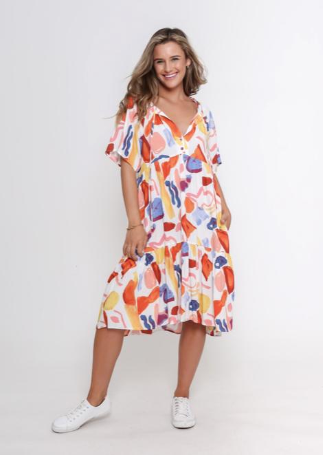 LEONI - Skyla Dress - Multicolour