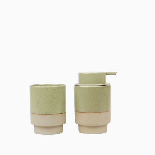 Soap & Tumbler - Olive - Robert Gordon