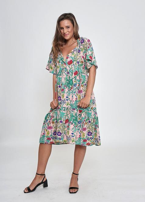 Skyla Floral Dress - LEONI