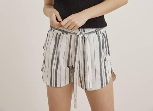 Little Lies - Stripe Shorts