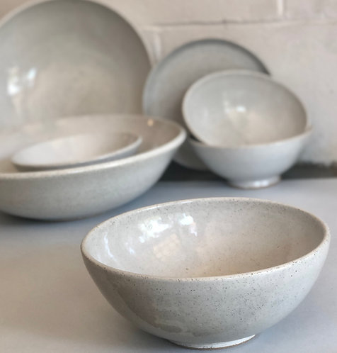 PETER WATSON - medium bowl white