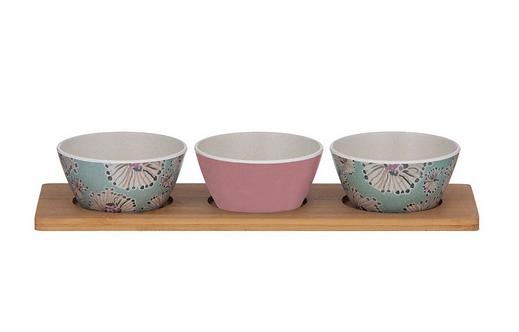 Nahala Bowls and Tray Set