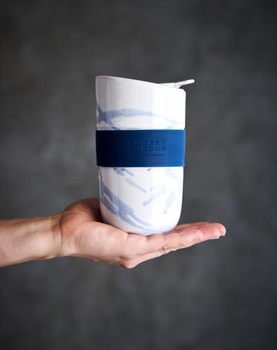 ROBERT GORDON - Travel Mug Blue Splash