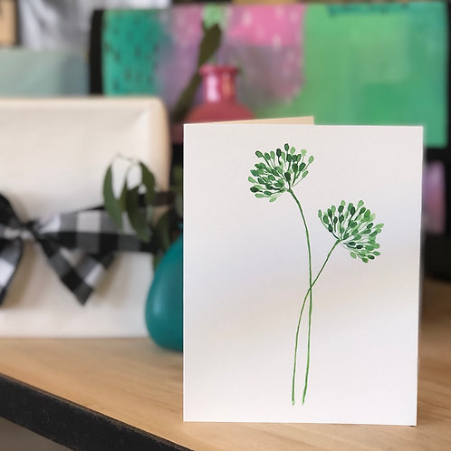 Green Bloom CARD