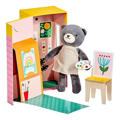 Beatrice the Bear Playset - Petit Collage