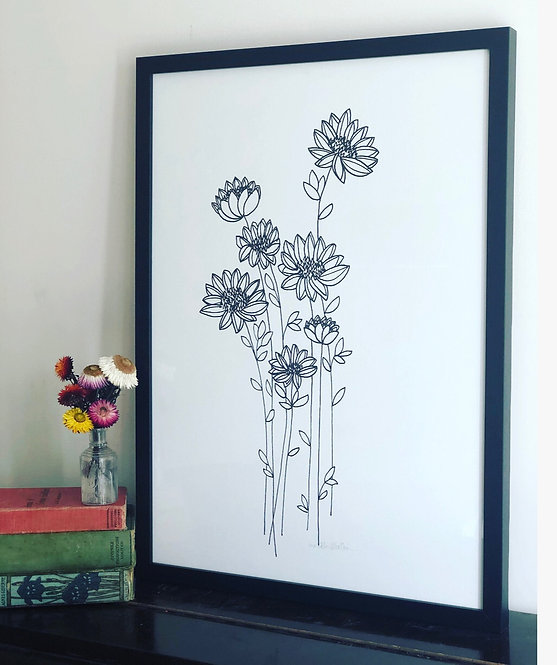 Fancy Floral PRINT