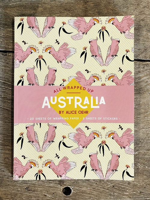 All Wrapped Up Australia - Wrapping paper Book