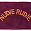 Thumbnail: Tula Nudie Rudie Bath Mat - Boysenberry - SAGE AND CLARE