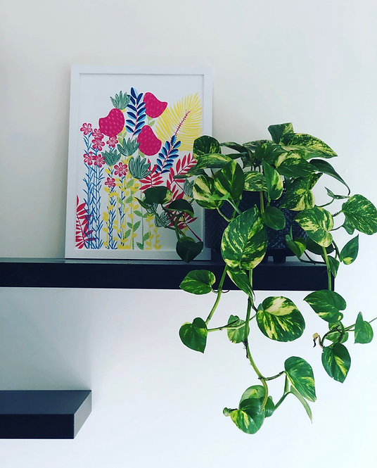 Imagine Flower Jungle PRINT