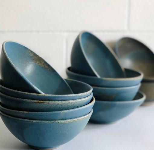 PETER WATSON - Matte Blue Small Bowls
