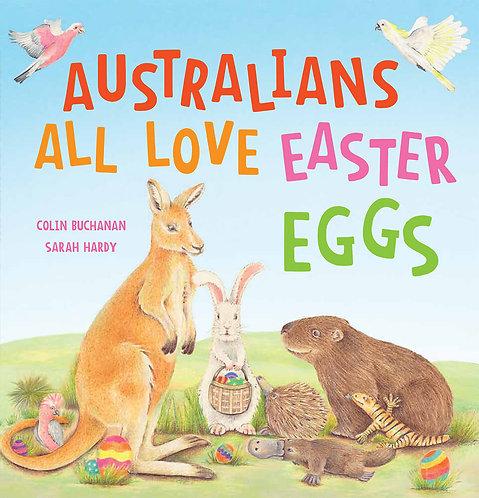 Australians All Love Easter Eggs BOOK