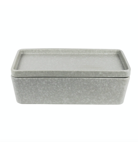 Rectangle Bowl and Plate - Grey (Stack, Serve and Store) ROBERT GORDON