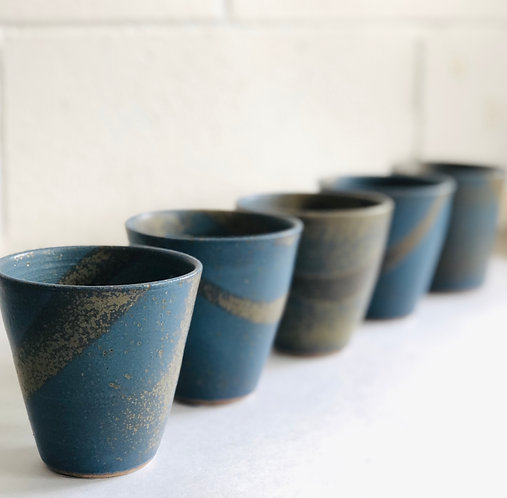 PETER WATSON Pottery - Assorted Latte Cups