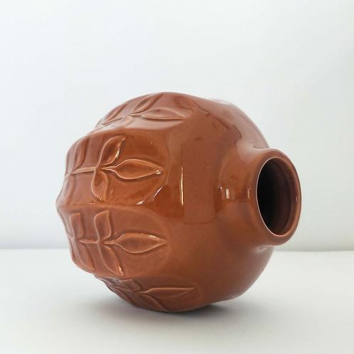 Petal Vase Terracotta 11cm