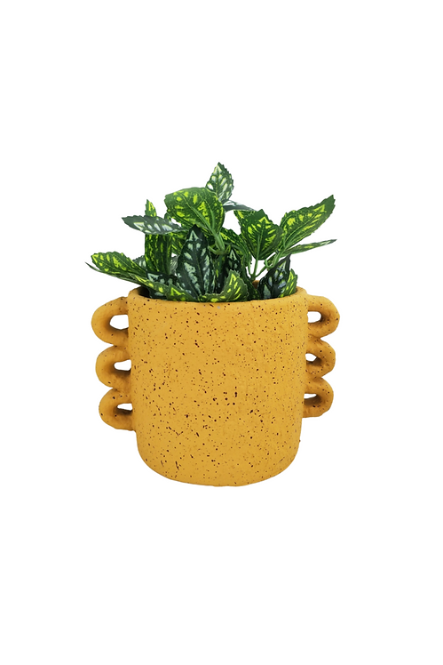 Dayze Planter Mustard Medium