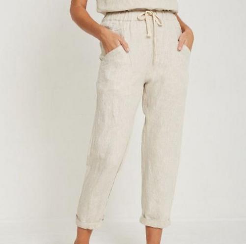 Little Lies - Luxe Pants Cream