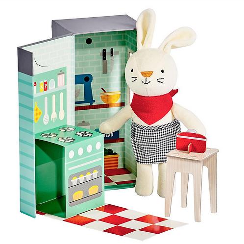 Rubie Rabbit Kitchen Play Set