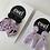 Thumbnail: Pink Dangle Earrings - EMEL