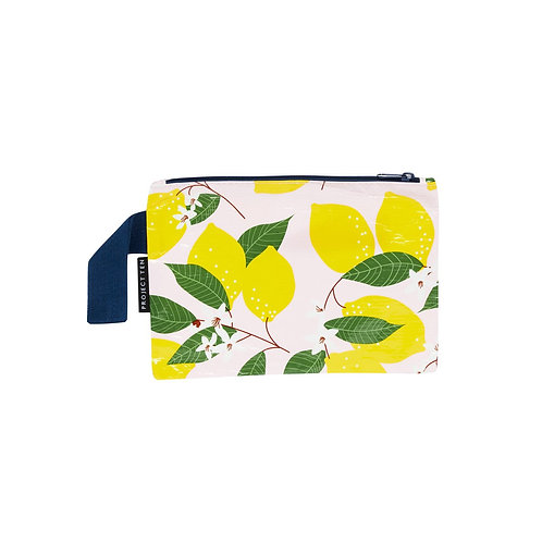 LEMON MINI ZIP POUCH