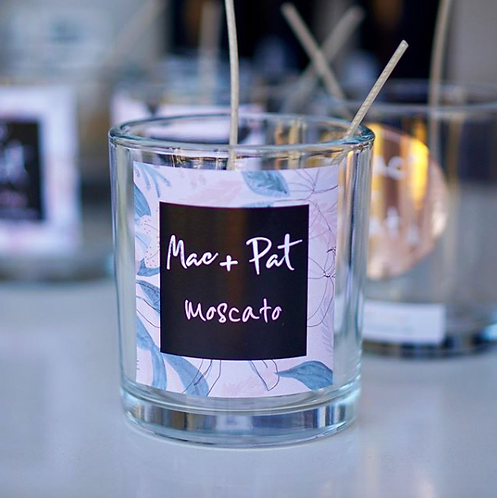 Moscato CANDLE 40 or 80hr+ - Mac + Pat