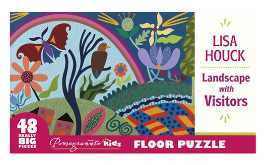 Landscape With Visitors FLOOR PUZZLE