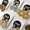 Thumbnail: Mustard Yellow Dangle Earrings - EMEL