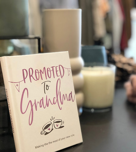 Promoted to Grandma - Book
