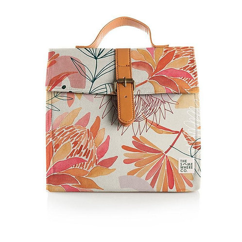 Brushed Protea Lunch Satchel  - THE SOMEWHERE CO.