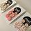 Thumbnail: Peach / Nude Dangle Earrings - EMEL