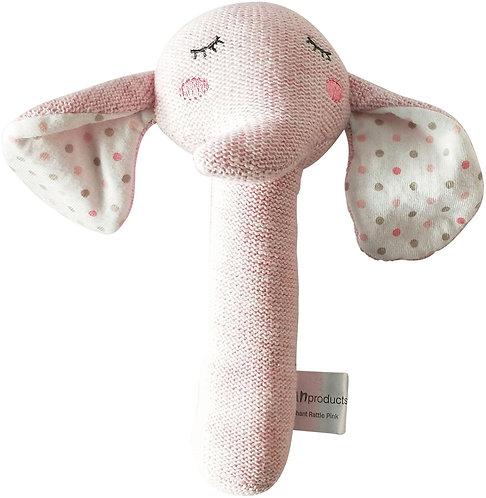 Elephant Rattle Pink