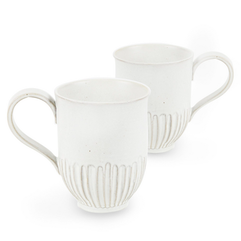 ROBERT GORDON - Crafted Mug Set of 2 - White