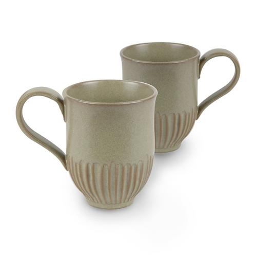 ROBERT GORDON - Crafted Mug Set of 2 - Olive