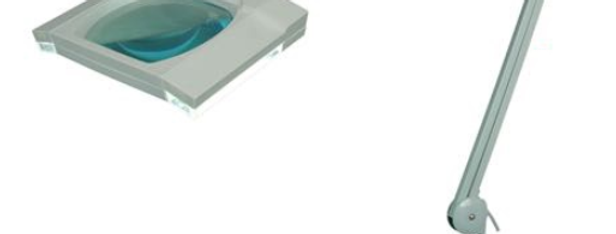 LED Magnifier lamp optical magnifier
