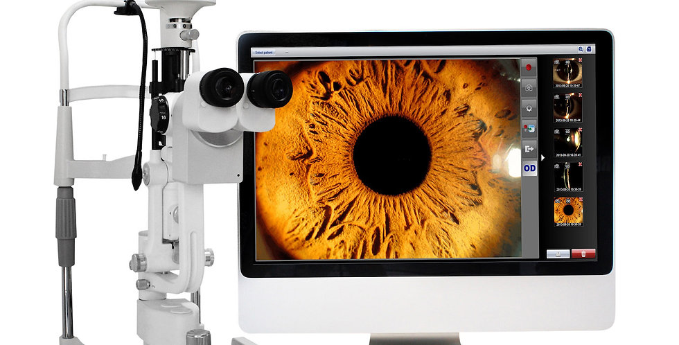 Digital slit lamp imaging system